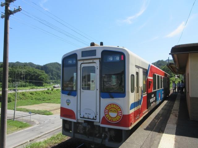 北リアス線 田老駅
