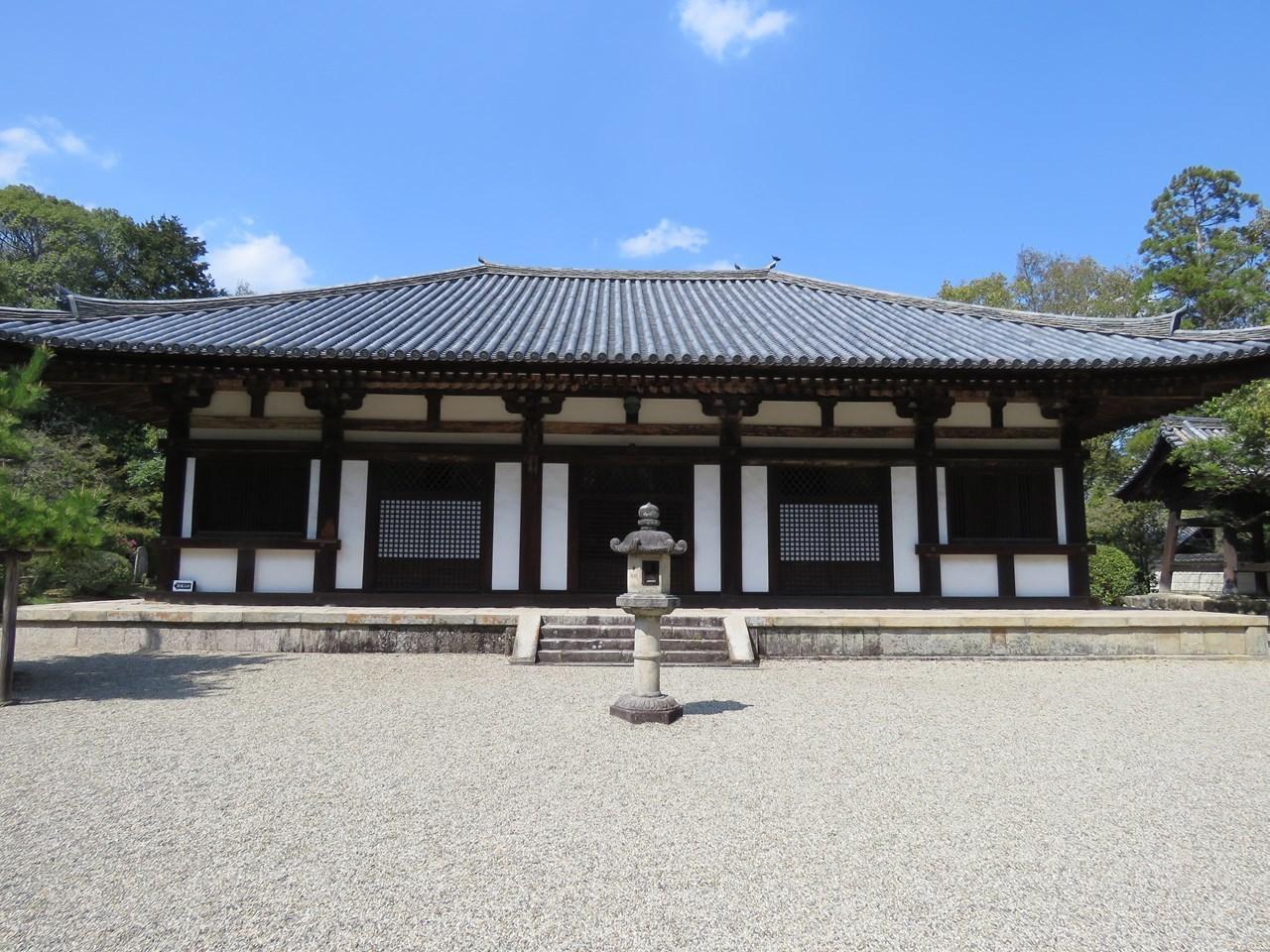 s-秋篠寺 本堂(国宝)