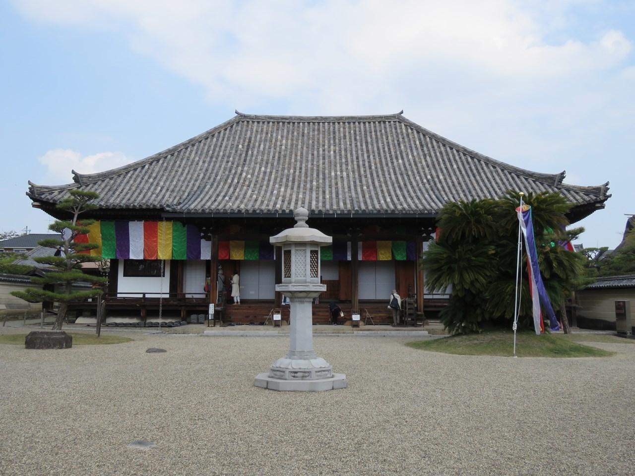 s-法華寺 本堂
