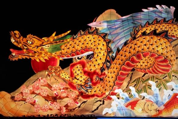 ねぶた祭り 大蛇