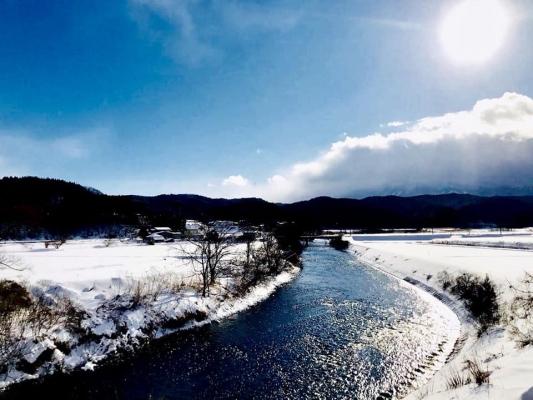 風景 川の流れ