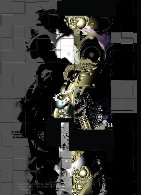 ロボットgoogle designコラージュ完成472