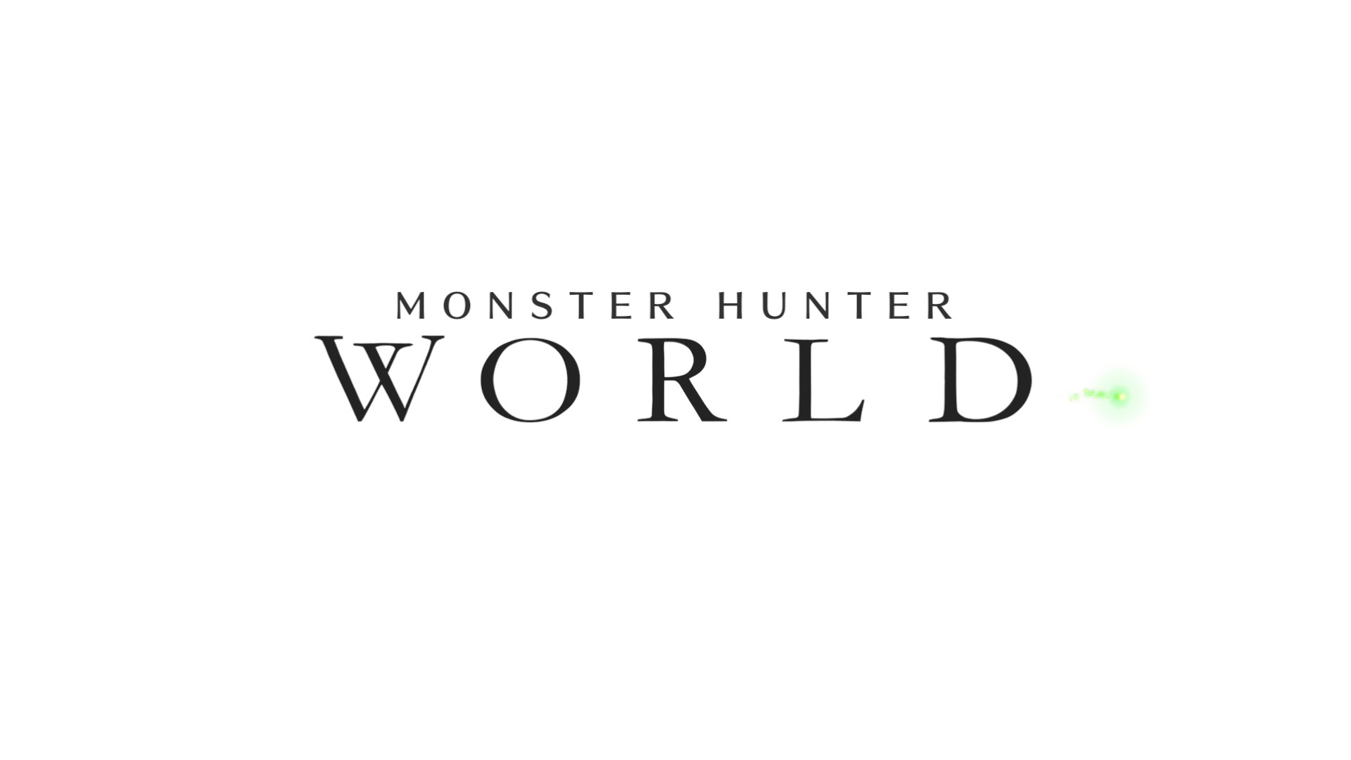 [PCゲーム]Monster Hunter: World1