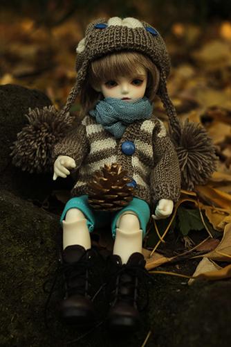 ROSEN LIED、Tuesday's child、通称・火曜子のチェルシー。眠らせていた秋冬コーデで、冬の公園へお出かけ。