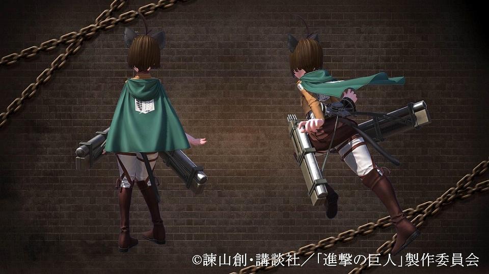 ファンタジーMMORPG『TERA』 5月2日よりアニメ「進撃の巨人」とのコラボ開催決定…!!