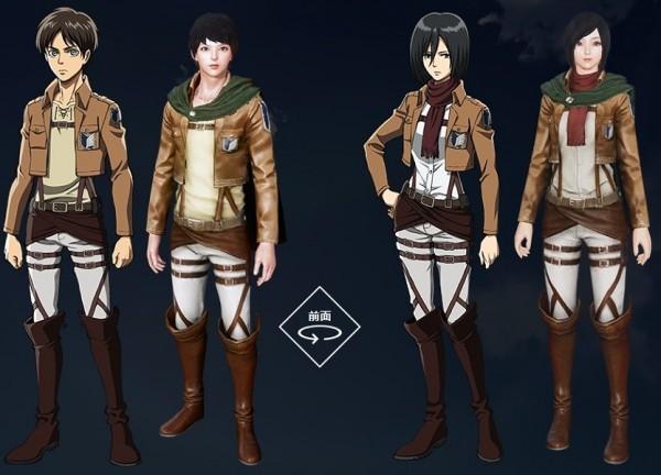 自由系オンラインRPG『アーキエイジ』 コラボイベントやアバターが登場する「進撃の巨人」コラボをスタートしたよ~!!