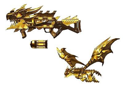FPSオンラインゲーム『カウンターストライクオンライン』 強化システム対応武器に「赤龍砲」を追加したよ~!!