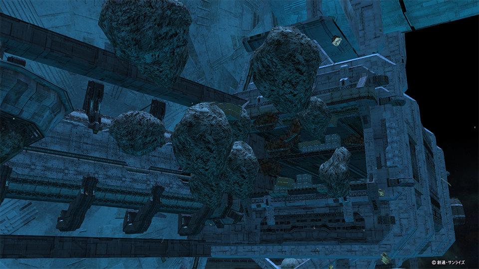 100人同時対戦を楽しめるオンラインゲーム『機動戦士ガンダムオンライン』 新たな戦場「インダストリアル7-ユニコーンの日-」を追加したよ~!!