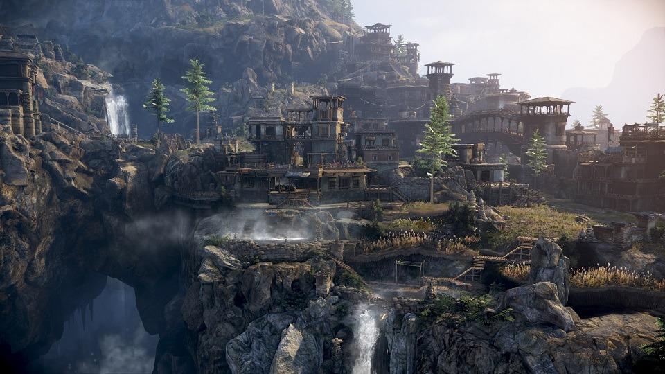 ノンターゲティングアクションRPG『黒い砂漠』 ドラゴンの住まう霊峰「ドリガン」のティザーサイトを公開したよ~!!!!