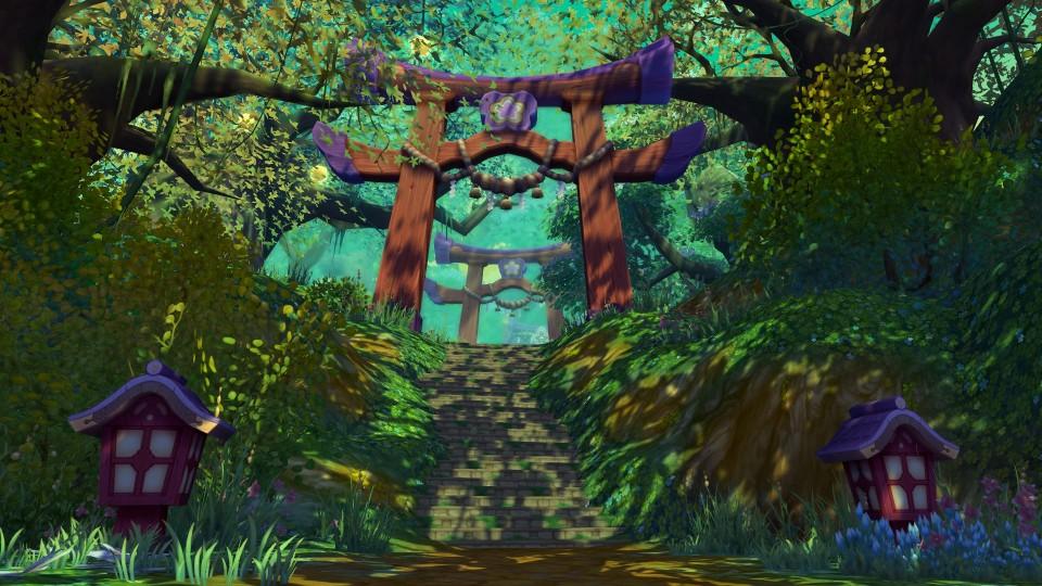 クロスジョブファンタジーMMORPG『星界神話』 肝試しイベントを開催したよ~!!!!