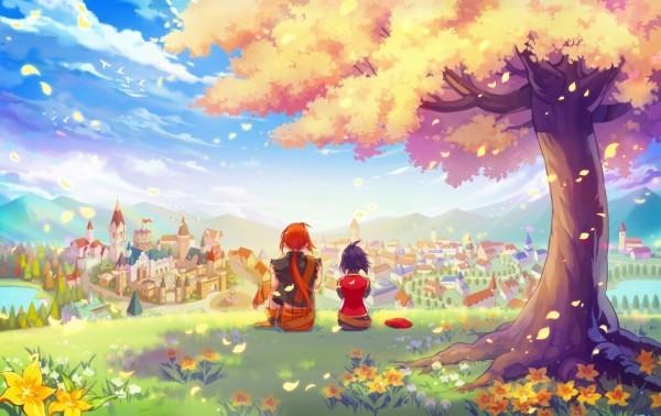 基本プレイ無料の2DファンタジーRPG『テイルズウィーバー』 約3年ぶり!新チャプター「Episode3 Chapter6:Evergreen Heaven」を実装したよ~!!