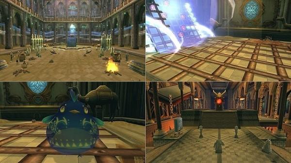 アニメチックファンタジーオンラインゲーム『幻想神域』 6月6日に考古学ダンジョン「ピラック庭園」を追加するぞ~!!