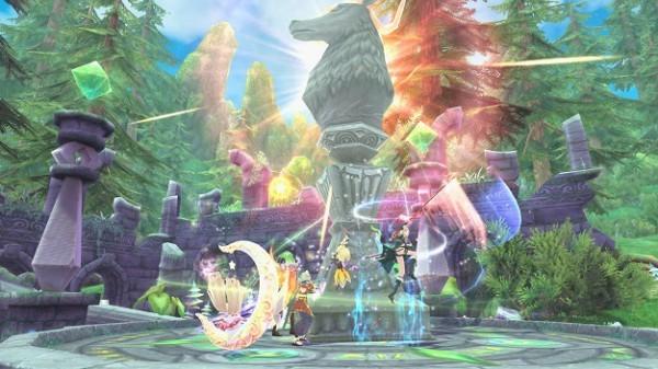アニメチックファンタジーオンラインゲーム『幻想神域』 6月20日にギルド同士の対人戦を楽しめる「ギルドアリーナ」を実装するぞ~!!!!