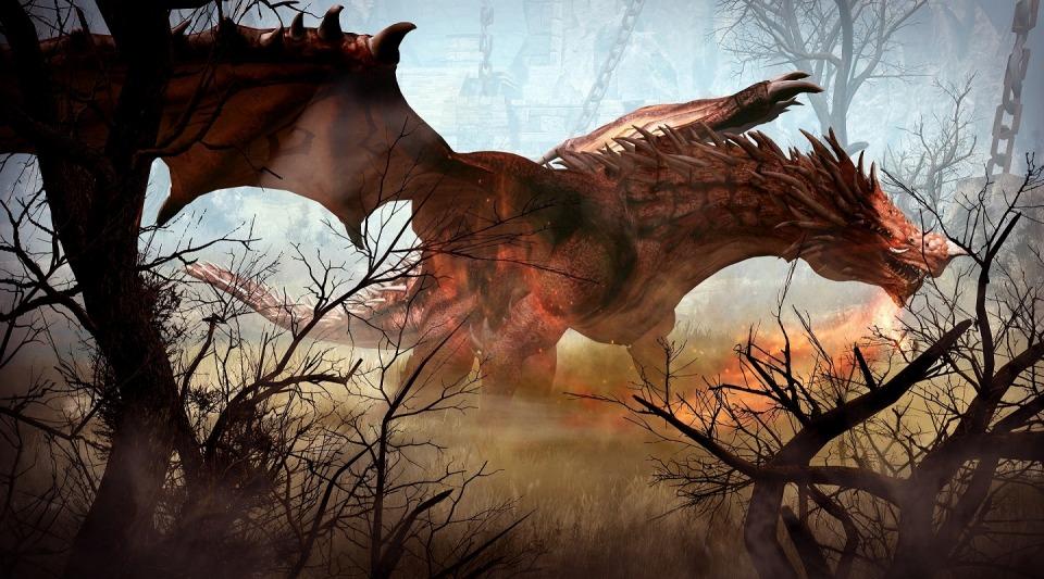 ノンターゲティングアクションRPG『黒い砂漠』 新エリア ドラゴンの住まう霊峰「ドリガン」を実装したぞ~!!