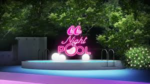 CanCam×Tokyo Prince Hotel Night Pool2