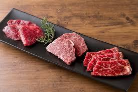 厳選!赤身肉3種盛り合わせ