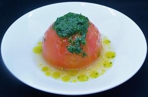 まるごとまるまるトマト バジルソース
