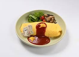 原宿オムライス「ちゃんと食べて!!」