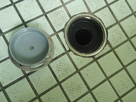 お風呂の排水口