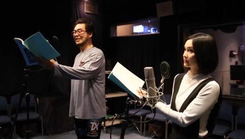 「グラゼニ」落合福嗣&M・A・Oアフレコ風景&コメント動画