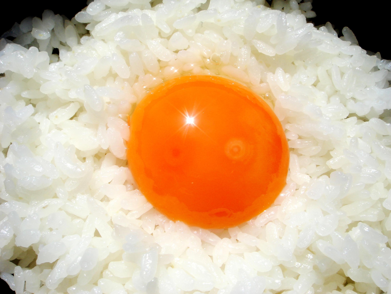 池田なませんはぜひ卵かけご飯で!