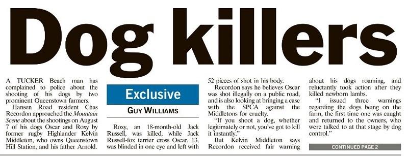 dog killers