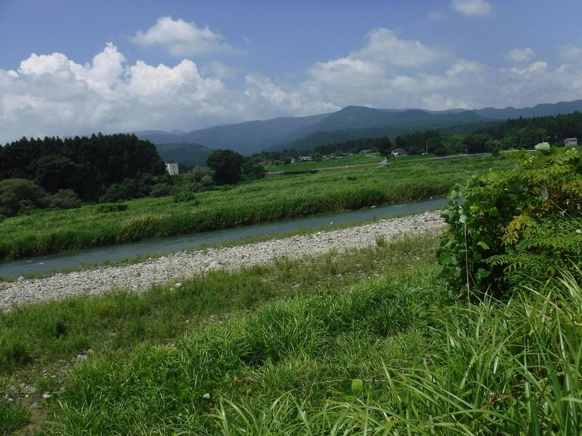 猛暑35度の河遊び.jpg