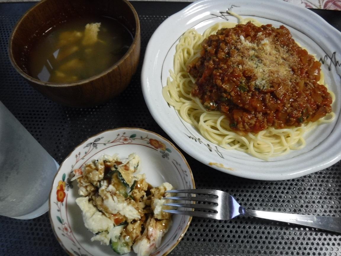ブログ 夕食 ミートソース.jpg