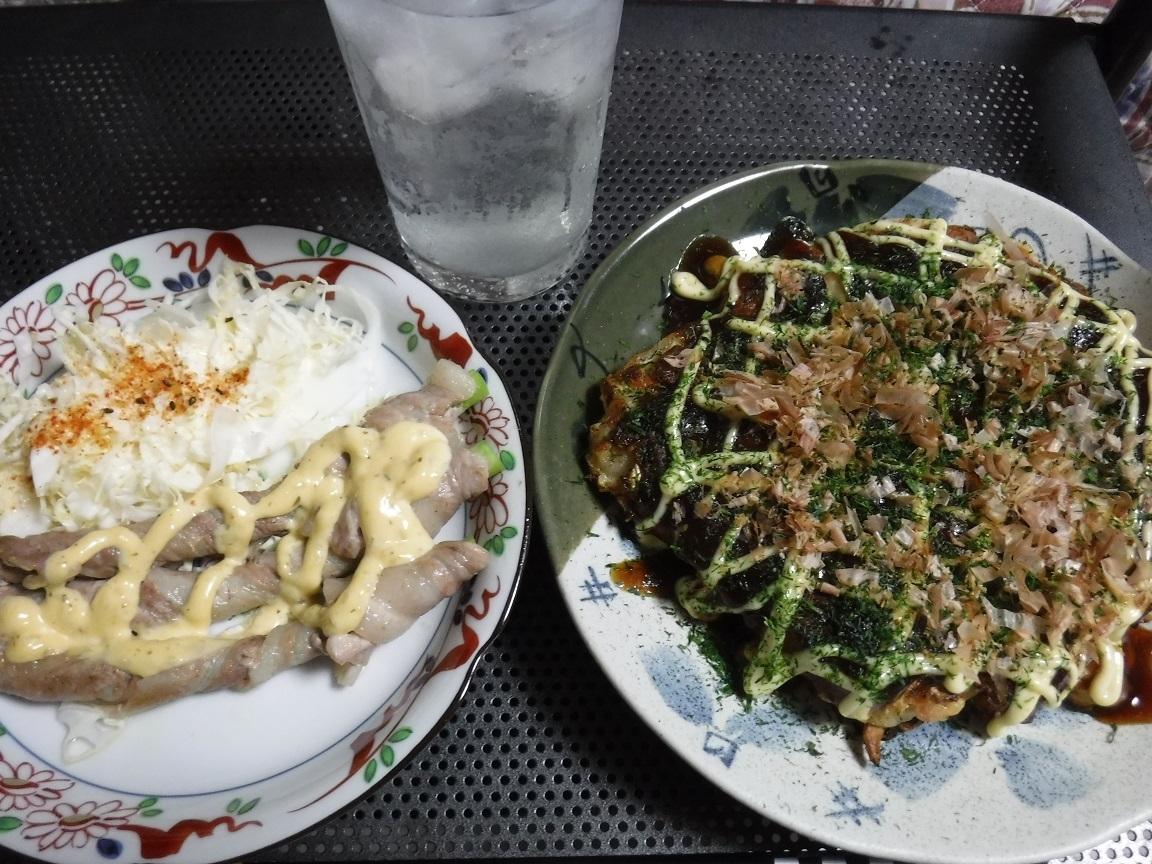 ブログ 8 10 夕食.jpg