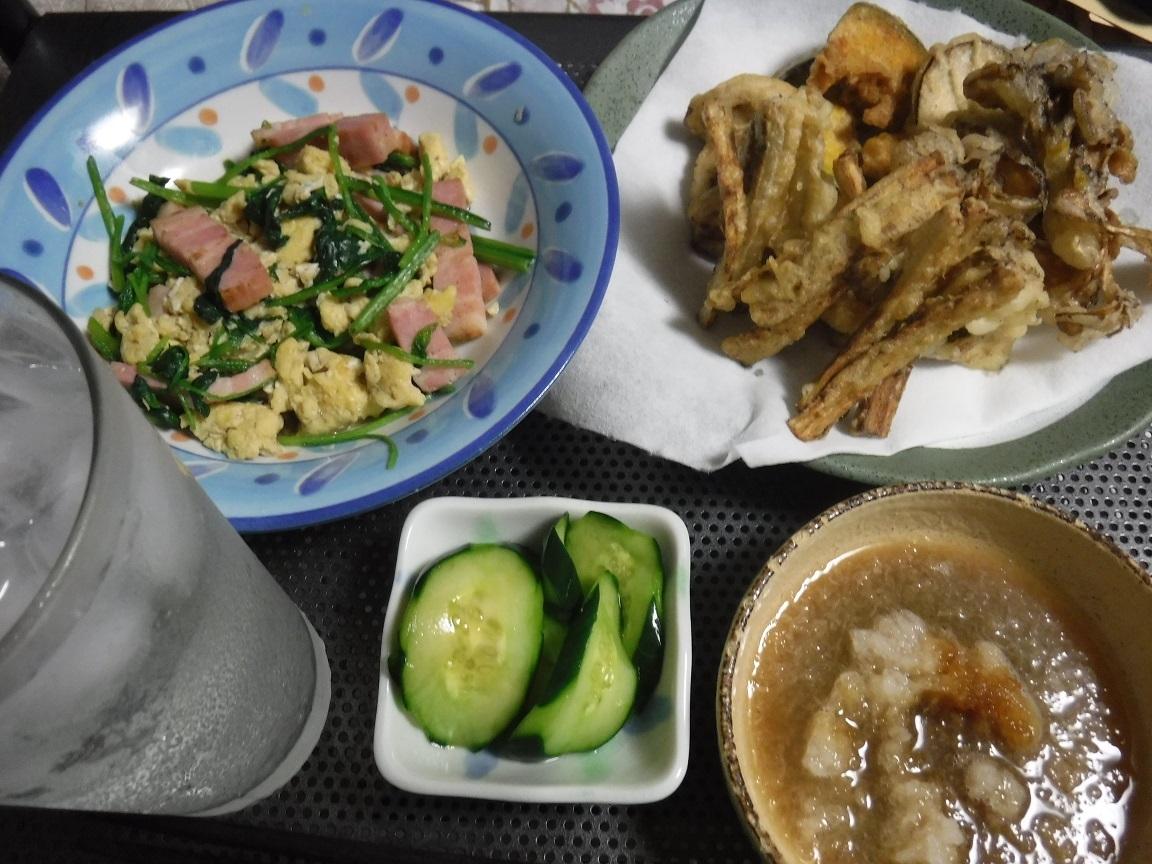 ブログ 8 13 夕食.jpg