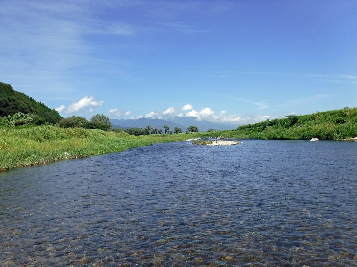 ブログ 夏の河 1.jpg