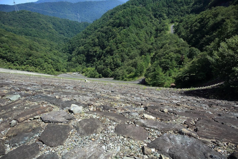 ブログ ダムから下を覗く.jpg