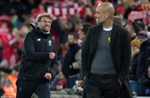 Klopp celebrates as Liverpool secure an emphatic first-leg lead over Manchester City in CL