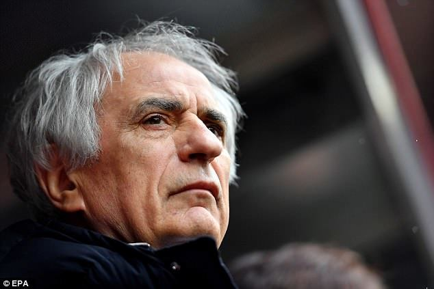 JFA confirmed parting ways with Halilhodžić just two months before the World Cup