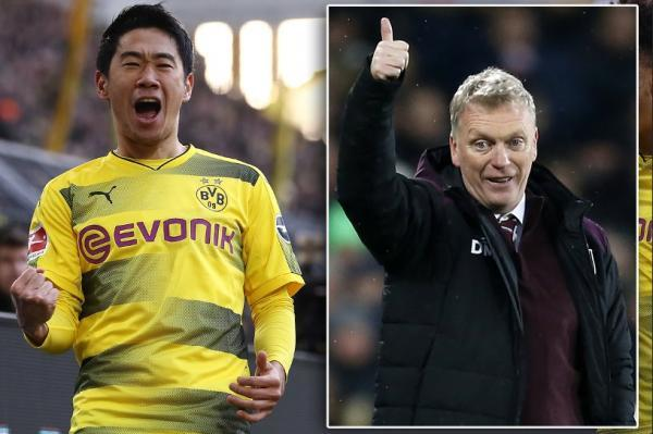 West Ham boss Moyes is mulling over a £12m reunion with former Manchester United midfielder Kagawa
