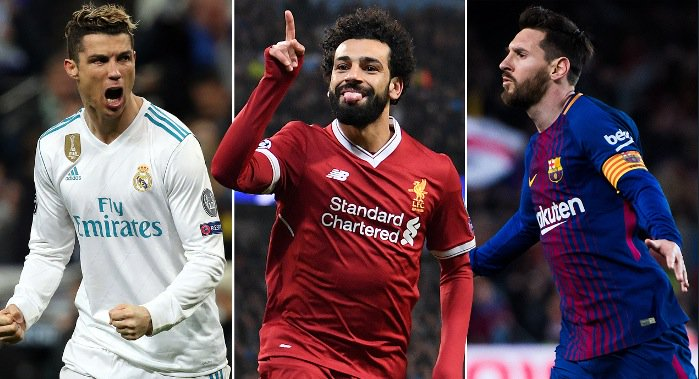 Salah compares to Cristiano Ronaldo and Lionel Messi in the 2018 Ballon dOr race