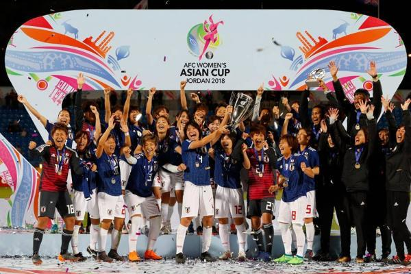 Champions! Japan win their second successive Asian title