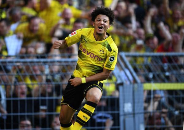 Borussia_Dortmund_4 0_Bayer_Leverkusen_Sancho_goal