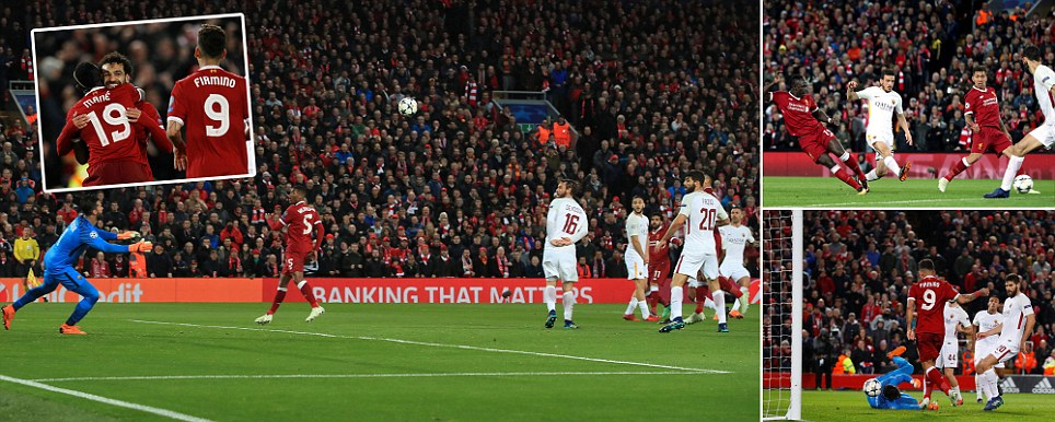 Liverpool vs Roma Klopp hopes Salah and Co can do the business at Anfield and hand Reds lead for second leg in Italy