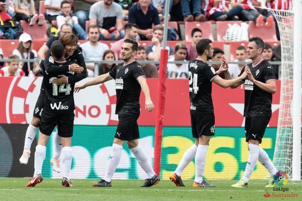 Girona 1-[4] Eibar Takashi Inui goal