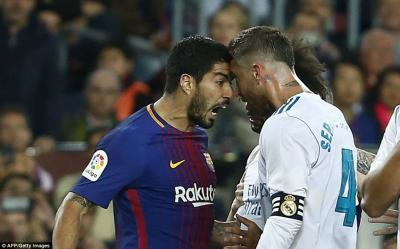 hottest heads in European football, Suarez and Ramos