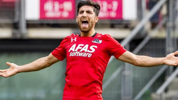 Iranian winger Alireza Jahanbakhsh finishes as the top scorer of the Eredivisie
