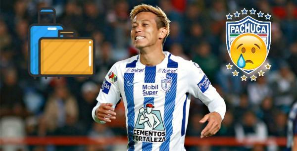 Keisuke Honda on instagram Its possible that I could leave Pachuca