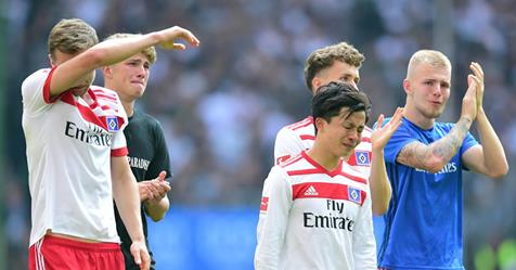 HSV has been relegated from the 1 Bundesliga