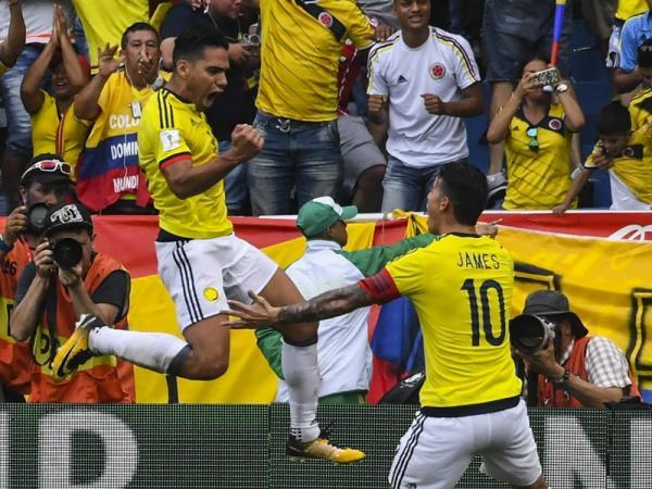 Falcao and James lead Colombias provisional World Cup squad