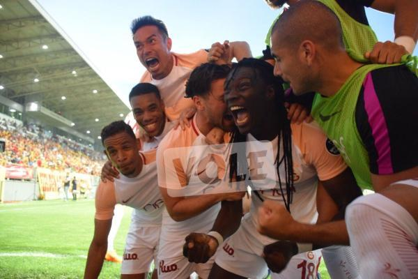Galatasaray crowned champions of the Turkish Süper Lig for the 21st time nagatomo