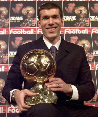 Zidane Ballon D'or