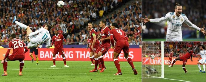 Bale scores brilliant bicycle kick as Liverpool suffer nightmare with injury to Salah