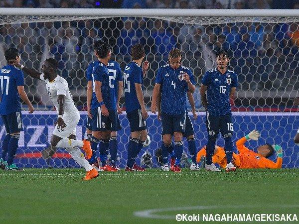 Japan 0-2 Ghana 2018