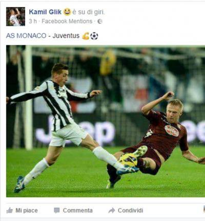 Kamil Glik literally celebrates injuring other players